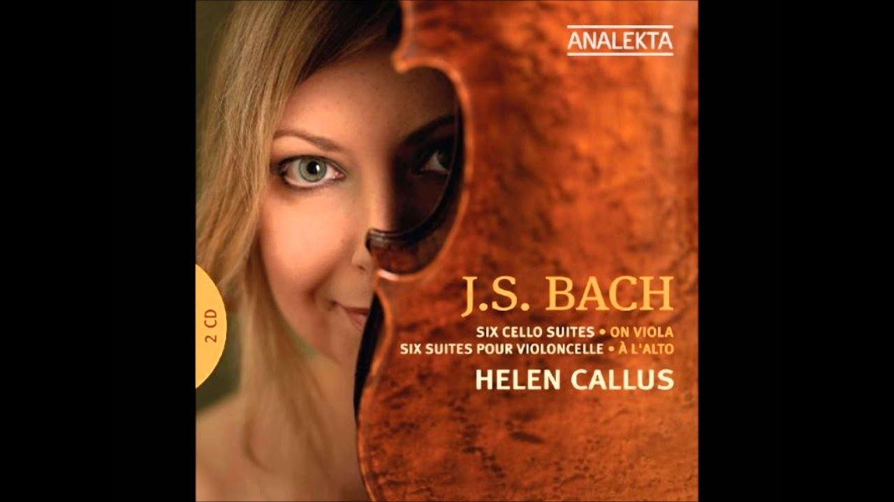 Amber Bach j. s. bach: suite no.4 in e flat major bwv 1010 - helen callus