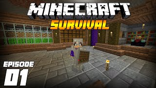 Minecraft 1.16 Survival Let's Play Ep:1 Getting Started!