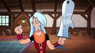 Mighty Magiswords | Dolphin Magisword Vlog | Cartoon Network