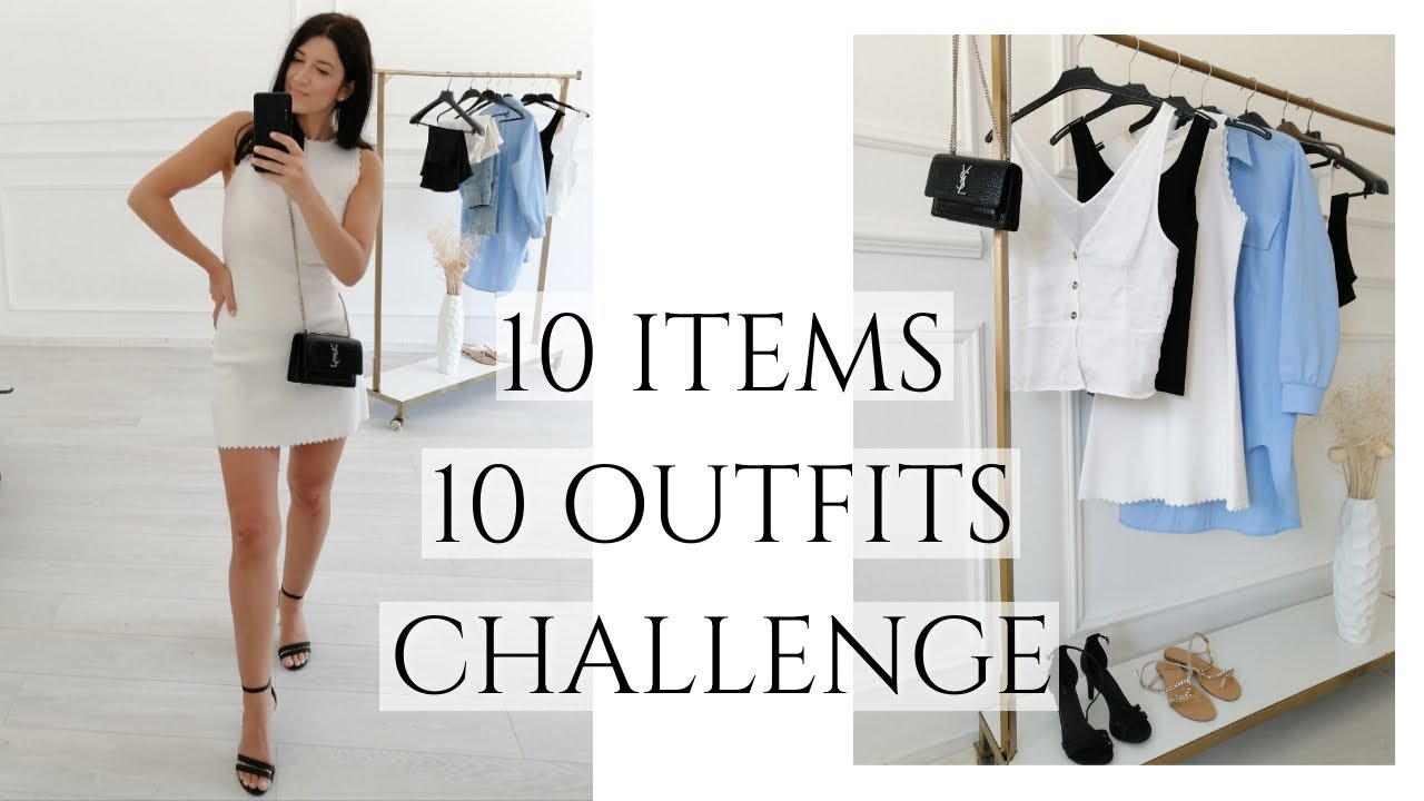 10 ITEMS, 10 OUTFITS | 10x10 Summer Wardrobe Challenge