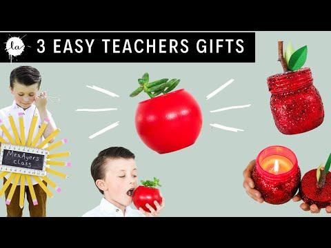3 Teachers Gift DIY tutorials | Apple Planter | Pencil Wreath | DIY Apple gifts