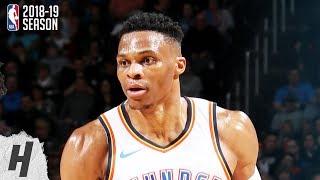 Sacramento Kings vs Oklahoma City Thunder - Full Highlights   Feb 23, 2019   2018-19 NBA Season