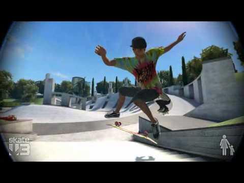 EA Skate 3 - Showing off whilst Dark Man of the Deer Dark Deer Woods defies gravity