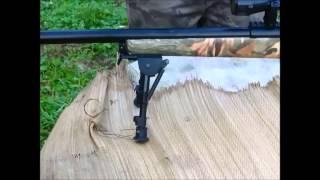 Recensione bipiede per fucili con foro sottocanna+prova di stabilità