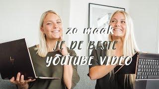 TIPS voor het editen van je BESTE YouTube video