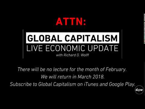 Global Capitalism Live Economic Update Announcement