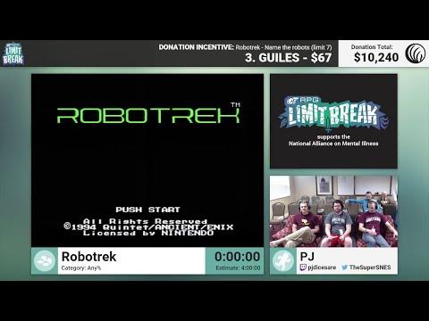 Robotrek by PJ (RPG Limit Break 2016 Part 8)