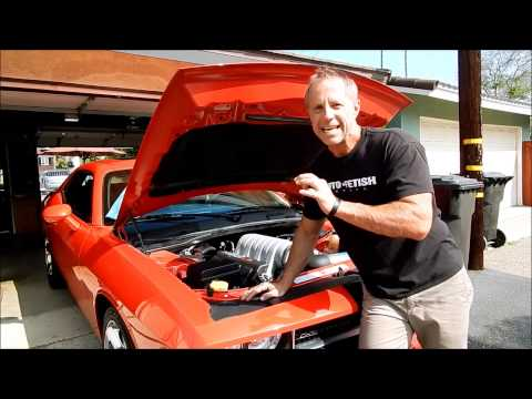 Car Engine Cleaning: Dodge Challenger SRT 8- Tips, Products, and some warnings from Darren