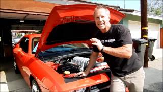 Car Engine Cleaning: Dodge Challenger SRT 8- Tips, Products, and some warnings from Darren Video