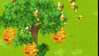 Как пчелы собирают мед