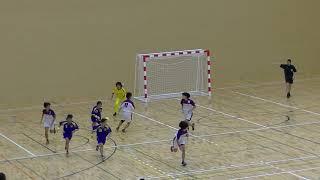 20191215福岡県高校新人ハンドボール(女子)準々決勝 筑紫女学園vs香椎(前半)