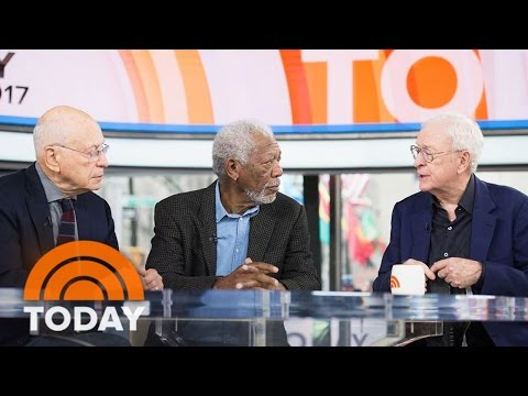 Morgan Freeman, Michael Caine, And Alan Arkin Talk 'Going In Style' | TODAY