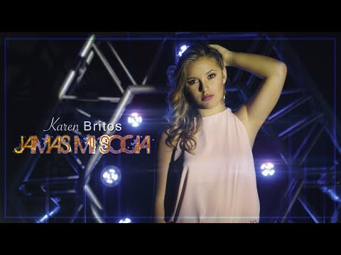 Jamas mi socia - Karen Britos Video Lyric oficial 2017