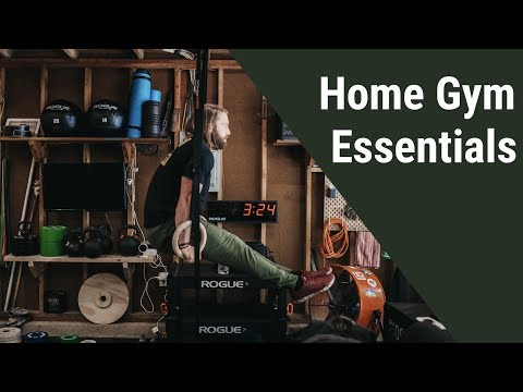 Home Gym Essentials for Competitive CrossFitters