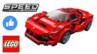 Lego Speed Champions 76895 Ferrari F8 Tributo SPEED BUILD