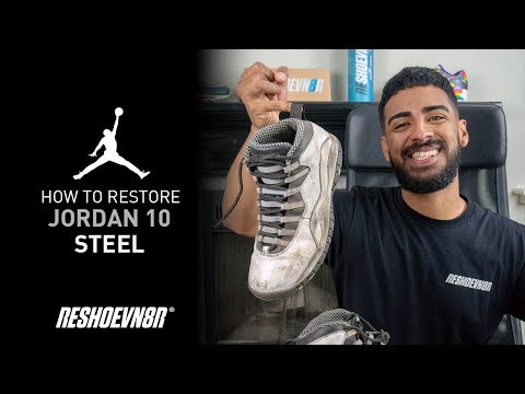 594e128e64b6d Vick Almighty Restores Jordan 10 Steel With Reshoevn8r!