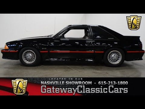 1988 Ford Mustang GT Foxbody,Gateway Classic Cars-Nashville#422