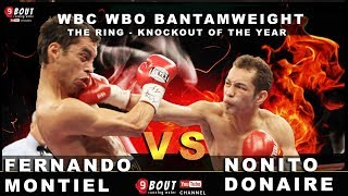 Donaire vs. Montiel | THE RING BEST KO of the year