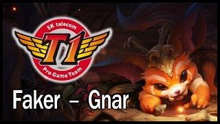 SKT Faker - Gnar top vs. Dr. Mundo - Patch 5.4 challenger solo queue (2015.03.01)