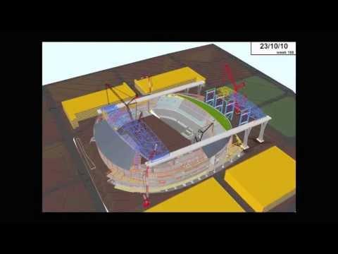 Marlins Park Building Information Modeling example