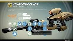 Destiny exotische Waffe Vex Mythoclast / exotisches Fusionsgewehr