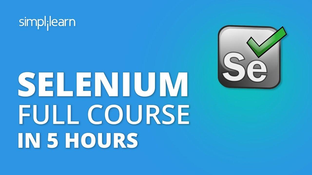 Download Selenium Tutorial For Beginners | Selenium Full Course | Selenium Webdriver Tutorial | Simplilearn