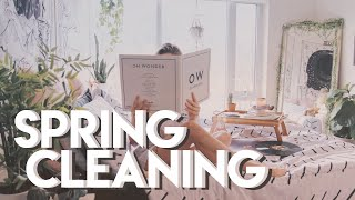 calming spring cleaning video | VLOG 13