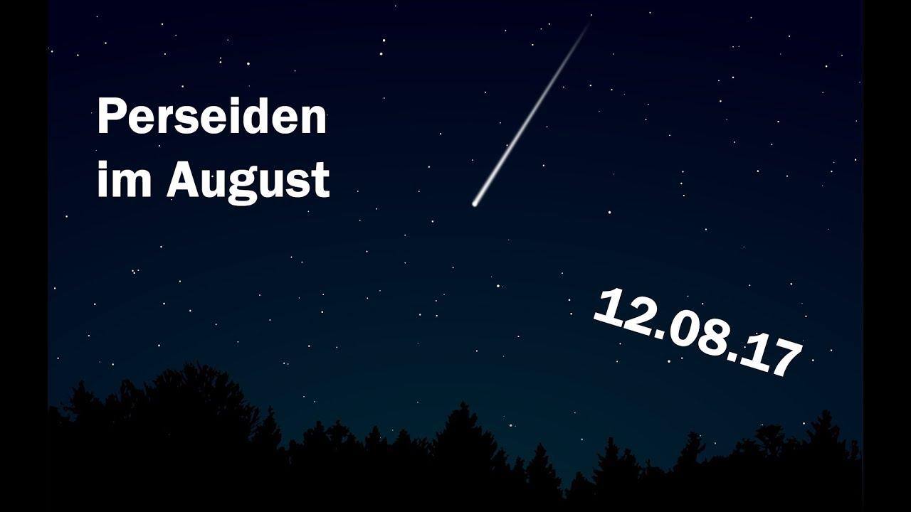 Sternschnuppen Im August