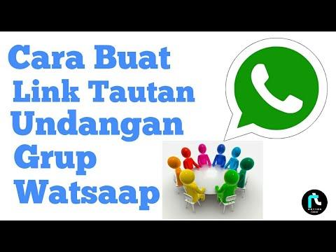 cara buat tautan/link undangan grup WhatsApp