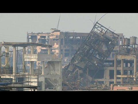شاهد: آثار انفجار وحريق في مصنع مبيدات حشرية في الصين  - نشر قبل 2 ساعة