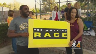 People Line Up For Amazing Race Casting Call