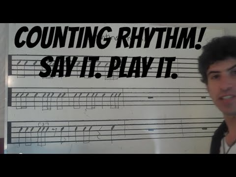 Counting Rhythms: Say & Clap Video 1
