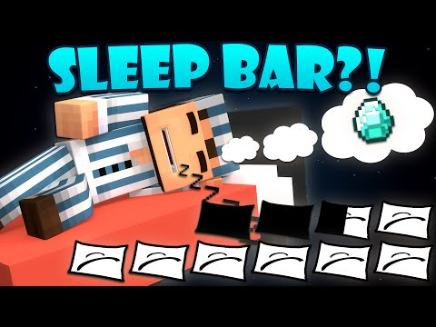 Thumbnail: If a Sleep Bar was Added to Minecraft