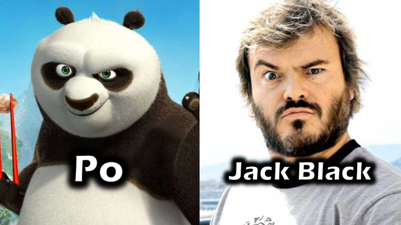 Characters And Voice Actors Kung Fu Panda Youtube