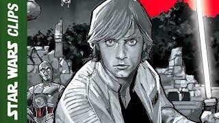 Luke Skywalker Adventure Motion Comic: The Weapon of A Jedi   Star Wars Clips