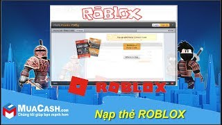 [Tutorial]-load Robux, Builders Club in Game Roblox by Rixty cards | MuaCash