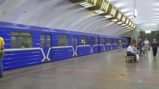 Нижегородский метрополитен - The Metro in Nizhny Novgorod, Russia 2016