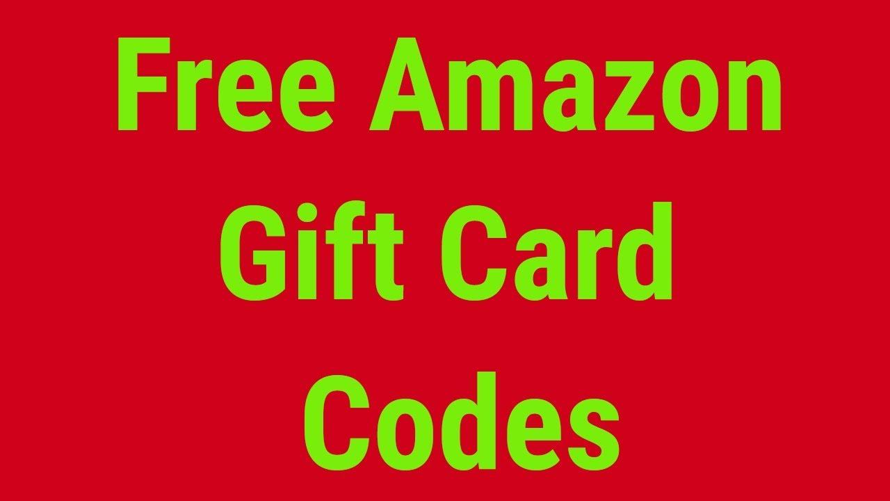 Codes Card Amazon Free - Gift Youtube 2019