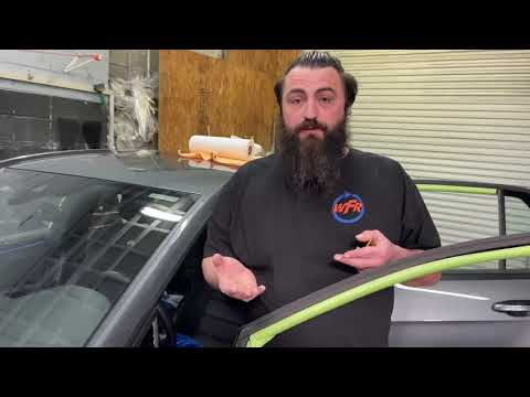 Tinting tip for front quarters on Volkswagens