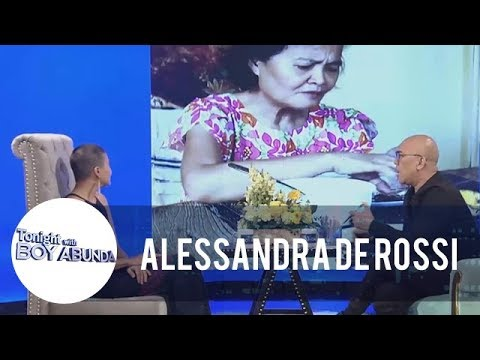 TWBA: Alessandra De Rossi shares how her mom makes her happy