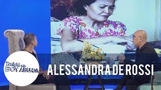 TWBA: Alessandra De Rossi shares how her mom makes her happy
