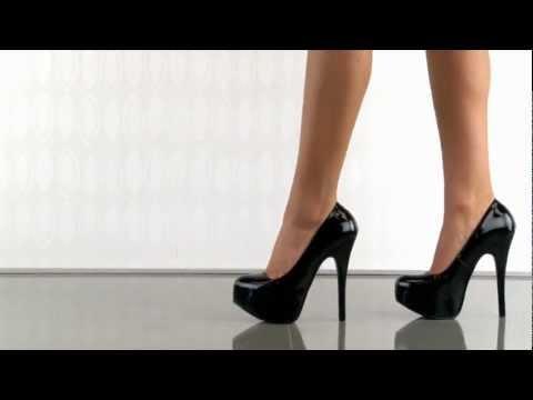 Shoes InStyle《五吋》美國品牌 PINK LABEL 原廠正品厚底高跟包鞋 有大尺碼 11-16碼『黑色』