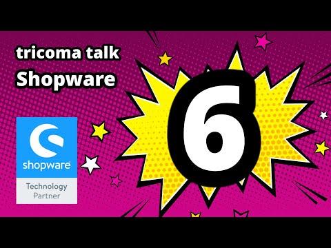 tricoma talk 004 - Shopware 6 Anbindung - Warenwirtschaft und ERP für Ihren Shop