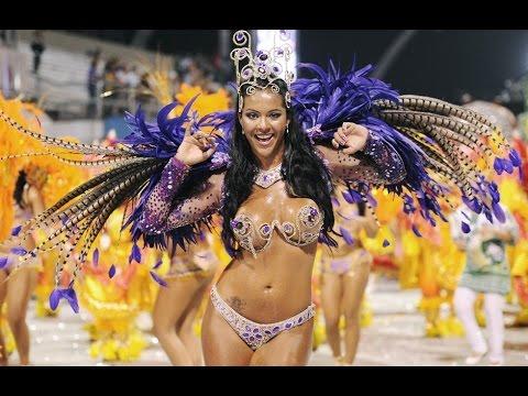 Сексуальные бразильские карнавальные танцы