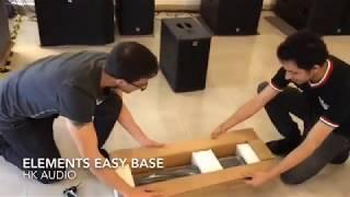 como armar equipo de audio HK Audio Elements
