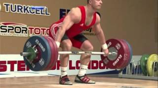2012 European Championships Men 94 Kg