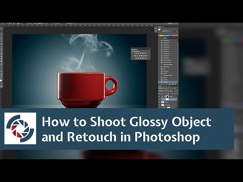 How to shoot glossy subject and retouch in Photoshop: Friday Photo talk #8