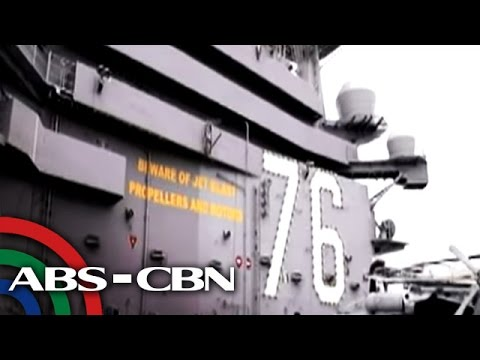US aircraft carrier, papunta na sa West Philippine Sea