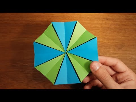 How To Make a Paper Magic Star - Origami