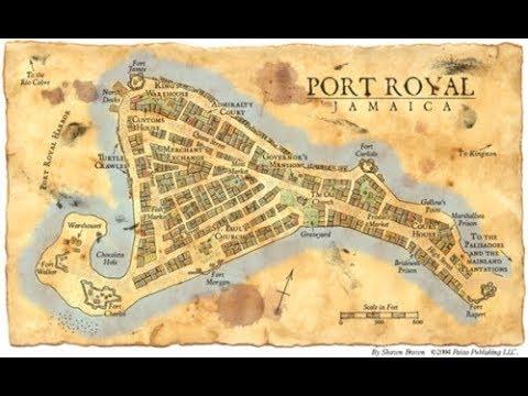 Download Les secrets engloutis - Port Royal, la baie des pirates